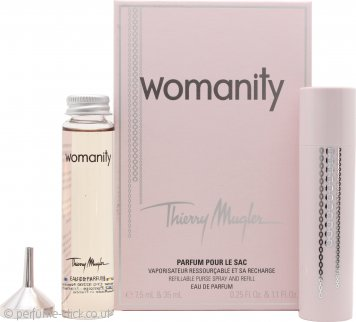 Thierry mugler womanity gift set 30ml edp spray 100ml for Thierry mugler miroir des majestes