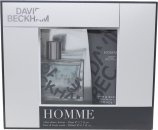 David Beckham David Beckham Homme Set de Regalo 30ml EDT + 200ml Gel Corporal / Cabello