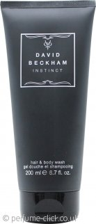 David Beckham Instinct Hair & Body Wash 200ml