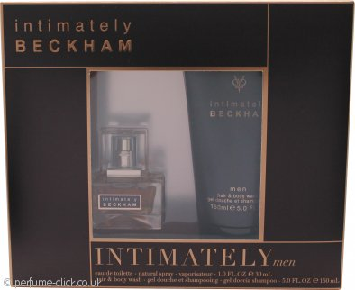 David & Victoria Beckham Intimately Gift Set 30ml EDT + 150ml Hair & Body Wash