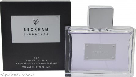 David & Victoria Beckham Signature Men Eau de Toilette 75ml Spray