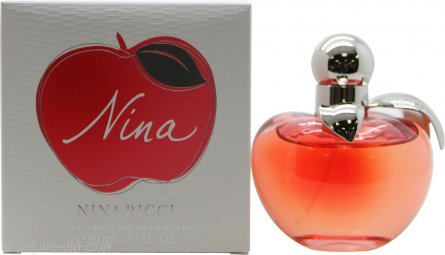 Nina Ricci Nina Eau de Toilette 80ml Spray