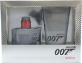 James Bond 007 Quantum Gift Set 50ml EDT + 150ml Shower Gel