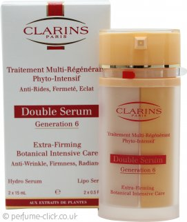 Clarins Double Serum Generation 6 Extra-firming Botanical Intensive Care Serum 2 x 15ml