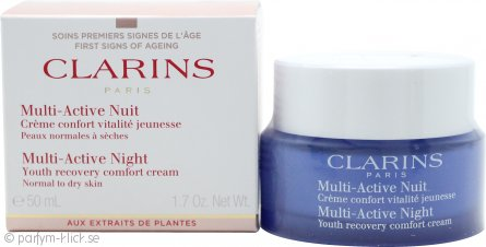 Clarins Multi Active Night Youth Recovery Comfort Cream 50ml Dry Skin