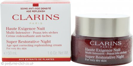 Clarins Super Restorative Night Wear Cream 50ml - Very Dry Skin