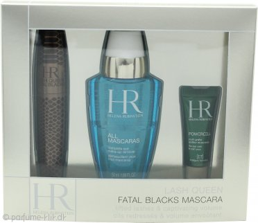 Helena Rubinstein Lash Queen Fatal Gavesæt  7.2ml Mascara + 50ml All Mascaras! Eye Make-Up Remover + 3ml Prodigy Eye Care