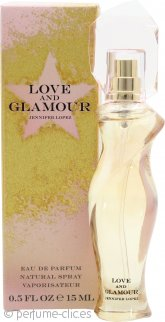 Jennifer Lopez Love and Glamour Eau de Parfum 15ml Vaporizador