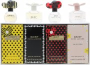 Marc Jacobs Miniatures Gift Set 4 x 4ml (Dot + Daisy + Daisy Eau So Fresh + Honey)
