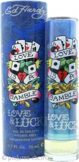 Ed Hardy Love & Luck Eau de Toilette 50ml Spray