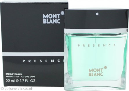 Mont Blanc Presence Eau de Toilette 50ml Spray