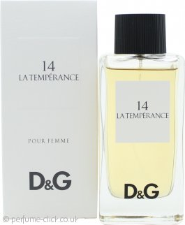 Dolce & Gabbana D&G 14 La Temperance Eau de Toilette 100ml Spray