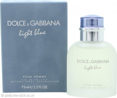 Dolce & Gabbana Light Blue Eau de Toilette 75ml Spray