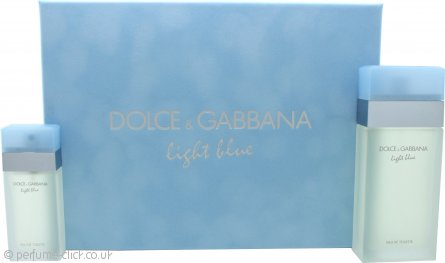 Dolce & Gabbana Light Blue Gift Set 100ml EDT + 25ml EDT