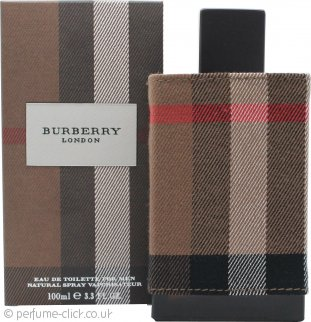 Burberry London Eau De Toilette 100ml Spray