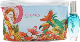 Escada Born In Paradise Lahjasetti 30ml EDT + Pussukka