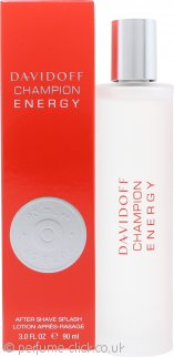 Davidoff Champion Energy Aftershave 90ml Splash