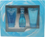 Davidoff Cool Water Gift Set 30ml EDT + 50ml Body Lotion + 50ml Shower Gel