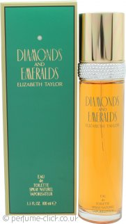 Elizabeth Taylor Diamonds & Emeralds Eau de Toilette 100ml Spray