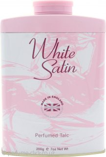 Taylor of London White Satin Perfumed Talc 200g