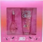 Jennifer Lopez Love At First Glow Gift Set 1.0oz (30ml) EDT + 6.8oz (200ml) Bath & Shower Gel
