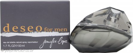 Jennifer Lopez Deseo for Men Eau de Toilette 50ml Spray