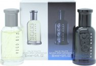 Hugo Boss Confezione Regalo 30ml EDT Bottled + 30ml EDT Bottled Night