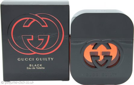 Gucci Guilty Black Pour Femme Eau de Toilette 50ml Spray