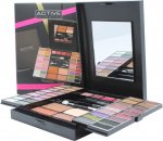 Active Glamour Endless Colour Compact With Mirror 36 Eyeshadows + 4 Lipsticks + 2 Blushers + 1 Bronzer Powder + 1 Eye Liner + Applicators