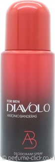 Antonio Banderas Diavolo For Men Deodorant 150ml Spray