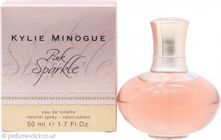 Kylie Minogue Pink Sparkle Eau de Toilette 50ml Spray