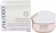 Shiseido Benefiance Wrinkle Resist 24 Intensive Eye Contour Cream 15ml Augencreme