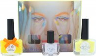 Ciaté Corrupted Neon Manicure Lahjasetti 13.5ml Neon Orange Kynsilakka + 10g Neon Glitter + 5ml Black Light Top Coat