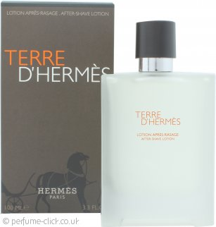 Hermes Terre D'Hermes Aftershave Lotion 100ml Splash