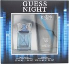 Guess Night Gift Set 50ml EDT Spray + 200ml Shower Gel