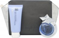 Thierry Mugler Angel Geschenkset 40ml EDT Hervulbaar (Comet) Spray + 100ml Body Lotion + Tas