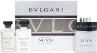 Bvlgari Man Extreme Gift Set 3 x 15ml EDT Refillable Spray