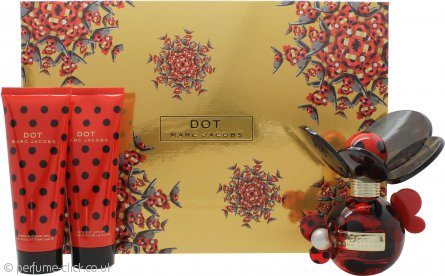 Marc Jacobs Dot Gift Set 50ml EDP + 75ml Body Lotion + 75ml Shower Gel