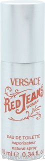 Versace Red Jeans Eau de Toilette 10ml Can Spray