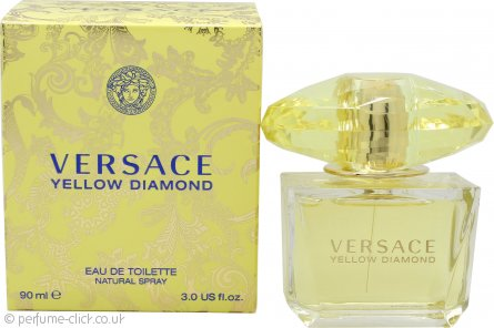 Versace Yellow Diamond Eau de Toilette 90ml Spray