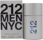 Carolina Herrera 212 Men Eau De Toilette 50ml Sprej
