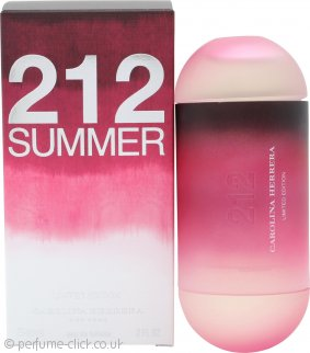 Carolina Herrera 212 Summer Eau de Toilette 60ml Spray