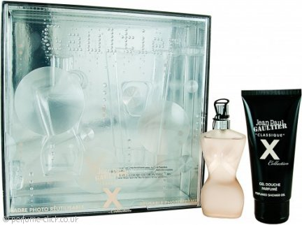 Jean Paul Gaultier Classique X Collection Gift Set 50ml EDT + 75ml Shower Gel