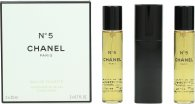 Chanel N°5 Giftset 3 x 20ml EDT Refills