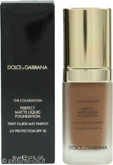 Dolce & Gabbana Perfect Matte Fondotinta Liquido 30ml - 180 Soft Sable