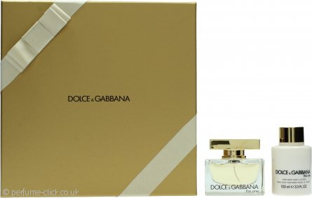 Dolce & Gabbana The One Gift Set 50ml EDP + 100ml Body Lotion