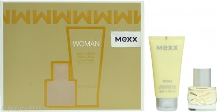 Mexx Woman Gavesett 20ml EDT + 50ml Body Lotion