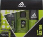 Adidas Pure Game Set de Regalo 50ml EDT + 250ml Gel de ducha + 150ml Body Vaporizador