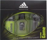 Adidas Pure Game Gift Set 50ml EDT + 150ml Body Spray + 250ml Shower Gel