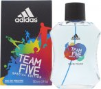 Adidas Team Five Eau De Toilette 100ml Spray